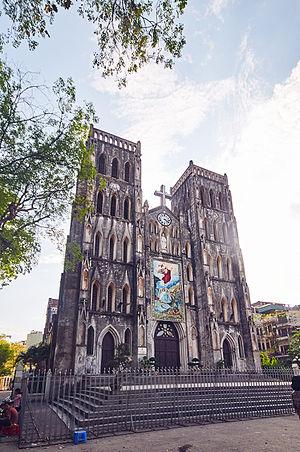 St. Joseph's Cathedral, Hanoi - Image: St. Joseph's Cathedral Hanoi, Vietnam