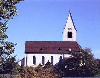 Gamprin - Parish church Saint Maria in Bendern-Gamprin