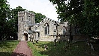 Alwalton - Image: St Andrew, Alwalton (geograph 2466116)