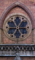 St George's Cathedral, rose window over west front.jpg