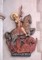 St George, Pinner View, Harrow - Plaque - geograph.org.uk - 1690965.jpg