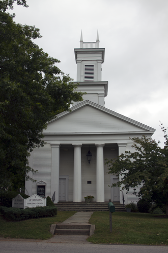 Bedford Road Historic District - Image: St Steffens Episcopal Church