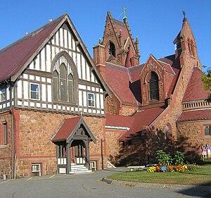 St. Stephen's Memorial Episcopal Church - Image: St Stephens Church Lynn, MA 02