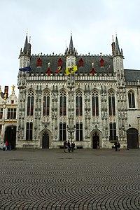 Stadhuis, gebouwencomplex - Burg 12 - Brugge - 29238.JPG