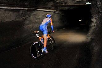 Cité de l'Or - Underground stage of the Tour de l'Abitibi