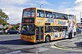 Stagecoach bus with 'Morecambe and Wise' advertising, in Heysham, Lancashire.jpg