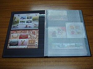 Stockbook - Image: Stamp stockbook 2545276