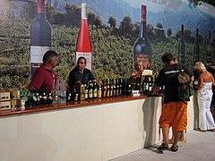 Festival du vin de limassol wikimonde for Stand de degustation