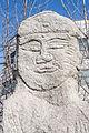 Standing Maitreya statues at Daegyo-ri, in Hongseong, Korea 04.jpg