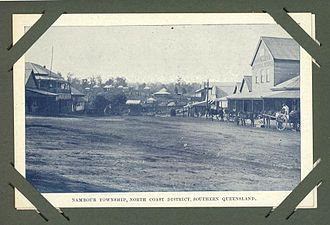 Nambour, Queensland - Main street in 1905