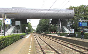 Hilversum Media Park railway station - The station in 2011