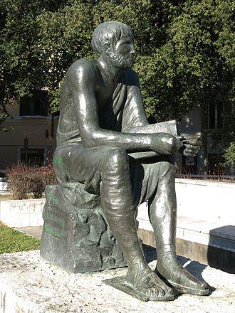 Marcus Terentius Varro - Statue of Marcus Terentius Varro in Rieti