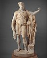 "Statue of Dionysos leaning on a female figure (""Hope Dionysos"") MET DT6494.jpg"