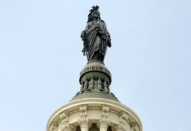 Statue of Freedom - United States Capitol