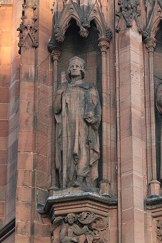 Gavin Douglas - Statue of Gavin Douglas, Scottish National Portrait Gallery