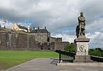 Statue of Robert the Bruce, Stirling Castle.jpg