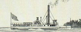 Great Lakes Patrol - The steamship SS Island Queen.