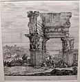 Stefano della bella, il tempio della concordia, 1656.JPG