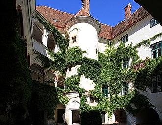 Principality of Auersperg - Image: Steinakirchen am Forst Schloss Ernegg