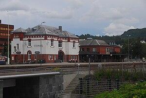 Steinkjer Station - Image: Steinkjer stasjon 2