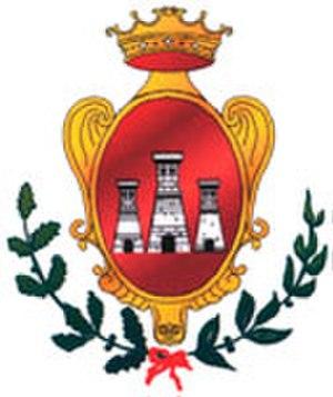 Rocca d'Evandro - Image: Stemma Rd E web