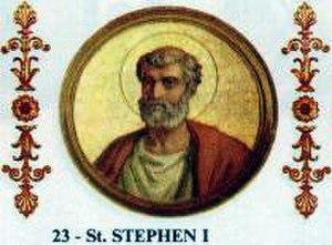 Pope Stephen I - Image: Stephen I