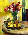 Still Life with Basket of Apples Vase of Flowers 1928.jpg