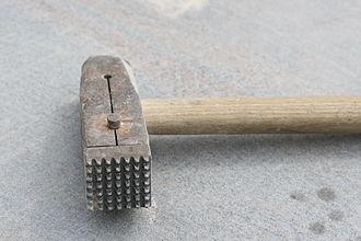 Bush hammer - A bush hammer