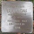 Stolperstein Bocholt Friesenstraße 9 Lila Landau.jpg