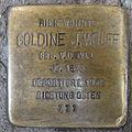 Stolperstein Höxter Marktstraße 27 Goldine J Wolff.jpg