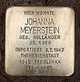 Stolperstein Hektorstr 15 (Halsee) Johanna Meyerstein.jpg