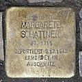 Stolperstein Huttenstr 71 (Moabi) Margarete Schattner.jpg