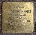 Stolperstein Jagowstr 44 (Moabi) Elly Hirschberg.jpg