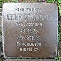 Stolperstein Jenny Grünbaum in Beckum.nnw.jpg