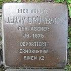 Stolperstein für Jenny Grünbaum