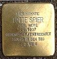 Stolperstein Kleve Hagsche Straße 66-68 Lotte Spier.jpg