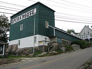 Stonington Opera House theater and movie theater in Stonington, Maine, United States