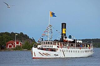 SS <i>Storskär</i> listed historical ship in Sweden