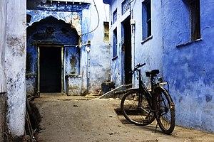 Bundi - Image: Street scene from Bundi, Rajasthan