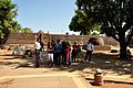 Student Visitors - Buddhist Monuments Site - Sanchi Hill 2013-02-21 4449.JPG