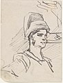 Study of Head and Shoulders of Woman with Headdress MET DP802644.jpg