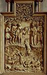 Sturz der 10.000 Märtyrer, vers 1520, Evangelische Stadtkirche Schwaigern.jpg