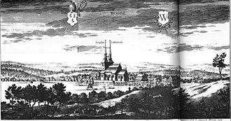 Växjö Cathedral - Image: Suecia 3 080 ; Växjö