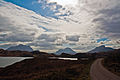 Suilven, Cul Mhor and Stac Polaidh, Sutherland, Scotland, 15 April 2011 - Flickr - PhillipC.jpg