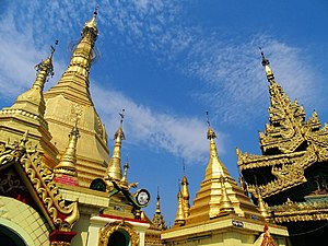 Sule Pagoda - Sule Pagoda is centrally located in Yangon as a religious and historic site.
