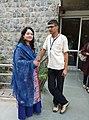 Suman Pokhrel and Adyasha Das (44425856805).jpg