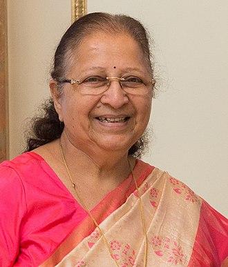 Speaker of the Lok Sabha - Image: Sumitra Mahajan
