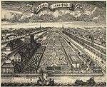 גן הקיץ, בשנת 1719.