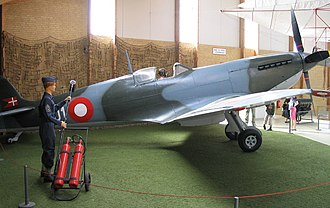Royal Danish Air Force - RDAF Supermarine Spitfire - Stauning Aircraft Museum