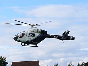 Kent, Surrey and Sussex Air Ambulance - G-KSSH